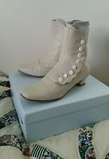 American Duchess Renoir Button Boots 8.5 Granny, Steampunk, Victorian, Civil War