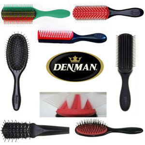 Denman Hair Brushes Hairbrushes Denman Classic Hairbrushes All Sizes Styles New