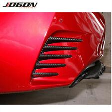 Car Rear Bumper Side Air Vent Splitter Trim For Lexus RC 200t 300 350 2015-2019