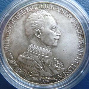 3 Mark 1913 A Preussen Wilhelm II. Reg. Jub. J. 112 stgl