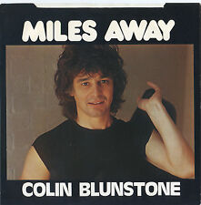 COLIN BLUNSTONE original RARE 45 with picture sleeve MILES AWAY