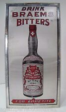 Antique Braems Bitters & Tonic Sign 'Good for Appetite & Constipation' Quack Med