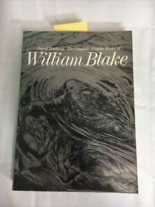 The Complete Graphic Works Of William Blake Paperback Book