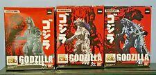2019 Bandai Godzilla 65th Anniversary 3.5 figure.lot - Godzilla / Mechagodzilla