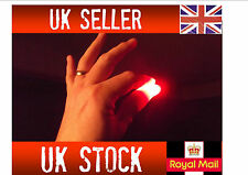 50 pairs x Magic Light up thumbs fingers RED party trick