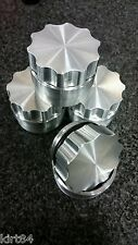 "10x LOT 1.5"" ALUMINUM BILLET FILLER NECK WELD ON SCREW CAP BUNG fuel COOLANT"