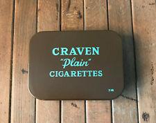 Compo Ration Tin. CRAVEN Plain Cigarettes. British Army WW11 WW2 D-Day Normandy