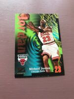 Michael Jordan - 1997 Skybox Z Force Card - Chicago Bulls - Basketball