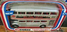 CORGI LONDON TRANSPORT SILVER JUBILEE BUS #471 - NEW IN PACKAGE