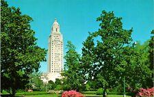 Baton Rouge LA State Capitol Building Postcard unused (13073)