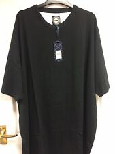 KAM Original Menswear Black Shirt Sleeved T-shirt Size 4XL NEW WITH TAGS