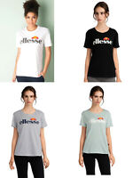Ellesse Women Girls Short Sleeve ROUND Neck Cotton T Shirt Top Tee 6 8 10 12 14