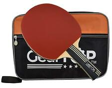 GearTOP 6 Star Table Tennis Racket Professional Ping Pong Paddle  & Carrying Bag