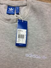Bnwt Mens Genuine Adidas Originals Grey Modern T Shirt Top With Pockets Sz M