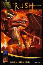 Rush: In Rio * Dragon * Style Concert Poster 2003 Awesome! 12x18