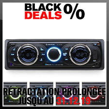 AUTORADIO USB BLUETOOTH TUNER RADIO RDS EON SD MP3 WMA ID3 LCD AMPLI 4X 75W ISO