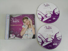 VIOLETTA LA MUSICA ES MI MUNDO CD + DVD SERIE TV WALT DISNEY CHANNEL 2013