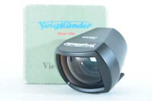 [Mint in box] Voigtlander 35mm View Finder Black (ny1738)