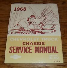 1968 Chevrolet Truck Chassis Service Manual Series 10-60 68 Chevy