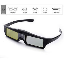 Universal Active Shutter 3D Glasses for DLP Projector Smart 3D USB Rechargeable
