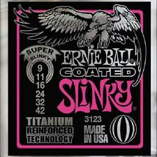 ERNIE BALL Jeu de Cordes Slinky Electric Titanium Super Light 9-42 - 3123