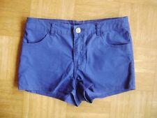 @ H&M @ tolle Hot Pants kurze Short königsblau Size S Gr. 36
