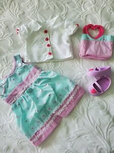 Clothes for 18 Inch Doll, American Girl, Doll Clothes, Doll Purse Shoes