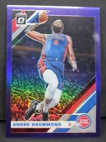 2019-20 Donruss Optic Andre Drummond Purple Prizm Card #146 Detroit Pistons NBA