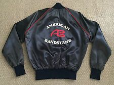 Rare! AMERICAN BANDSTAND TV Show Blue Satin JACKET Vintage DICK CLARK Production