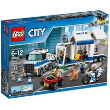 NEW LEGO City Mobile Command Center 60139 Police Truck ATV Motorbike Crooks NIB