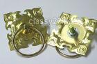 One Pair Metal Circle Handle Ring Taiko Drum    and Lion Dance Drum     parts