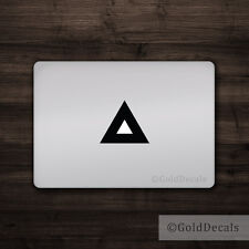 Triangle - Mac Apple Logo Cover Laptop Vinyl Decal Sticker Macbook Unique
