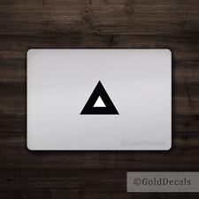 Triangle - Mac Apple Logo Cover Laptop Vinyl Decal Sticker Macbook Unique