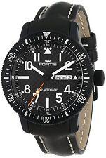 Fortis Men's 647.28.71 L.01 B-42 Marinemaster Automatic Black Leather Wristwatch