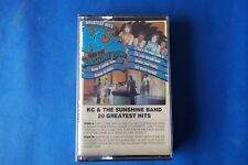 """KC & THE SUNSHINE BAND """" 20 GREATEST HITS """" MC TAPE MADE IN HOLLAND SEALED"""