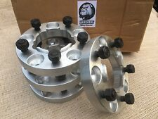 LandRover Defender/Discovery Wheel Spacers 30mm Hubcentric Aluminium Bulldog NEW