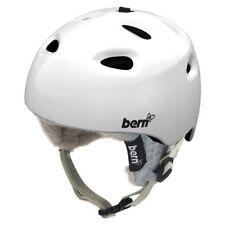 Bern Cougar Women's Ski Snowboard Helmet Gloss White XS (52-53.5cm) - New!