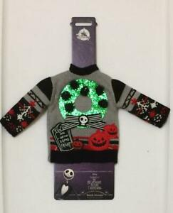 BNWT Disney Store Nightmare Before Christmas Holiday Bottle Sweater Cover Jack