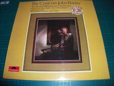 JOHN BARRY THE CONCERT & THE ROYAL PHILHARMONIC  ORCHESTRA VINYL LP