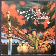 Joyeux Noël, M. Lawrence film soundtrack OST LP Ryuichi Sakamoto David Bowie