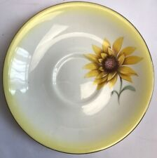 More details for royal albert sunflower saucer bone china made in england
