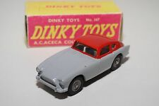 F DINKY TOYS 167  A.C. ACECA COUPE GREY RED NEAR MINT CONDITION REPAINT