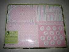 Gartner Baby Girl Photo Announcement Kit 50 with Envelopes Thank You Cards New
