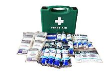 HSE 1-10, 1-20, 1-50- First Aid Kits - Workplace All Sizes + Refills, Cuts Burns