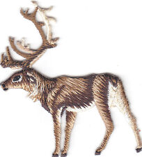 ELK - FOREST ANIMAL/ron On Embroidered Applique Patch