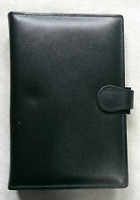 File Organiser Leather NEW BLACK STANDARD PERSONAL PHONE  25mm Diameter