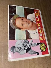 1960 Topps Frank Lary #85 Detroit Tigers Vintage Baseball Card (poor)(a)
