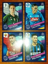 SET 4 FIGURINE SPECIALI TOPPS CHAMPIONS LEAGUE 2018-2019 B1-B4 SPECIAL EXCLUSIVE