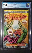 AMAZING SPIDER-MAN #142, CGC 7.0, Mysterio Cover Marvel Comics (1975)