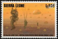 WWII 1994 D-Day Invasion - British Paratroopers Drop Behind Enemy Lines Stamp